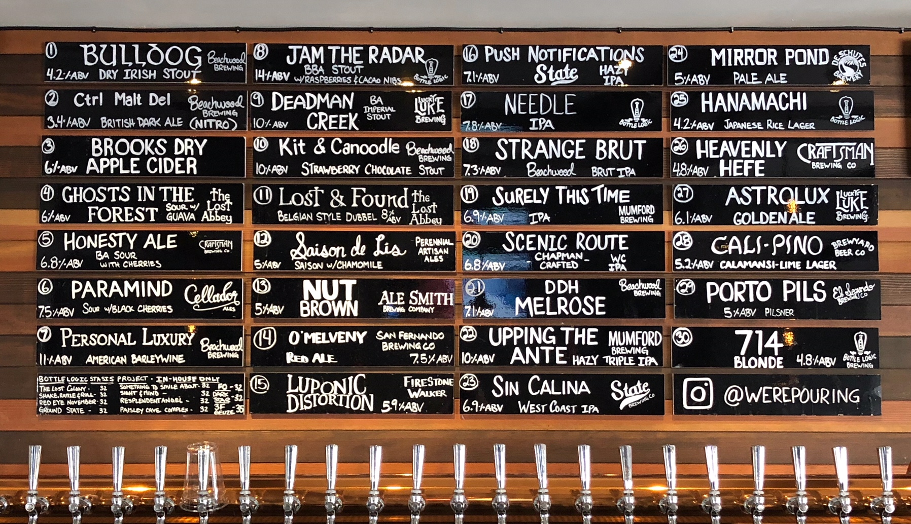 Were-Pouring-Craft-Beer-Taplist-3-30-19
