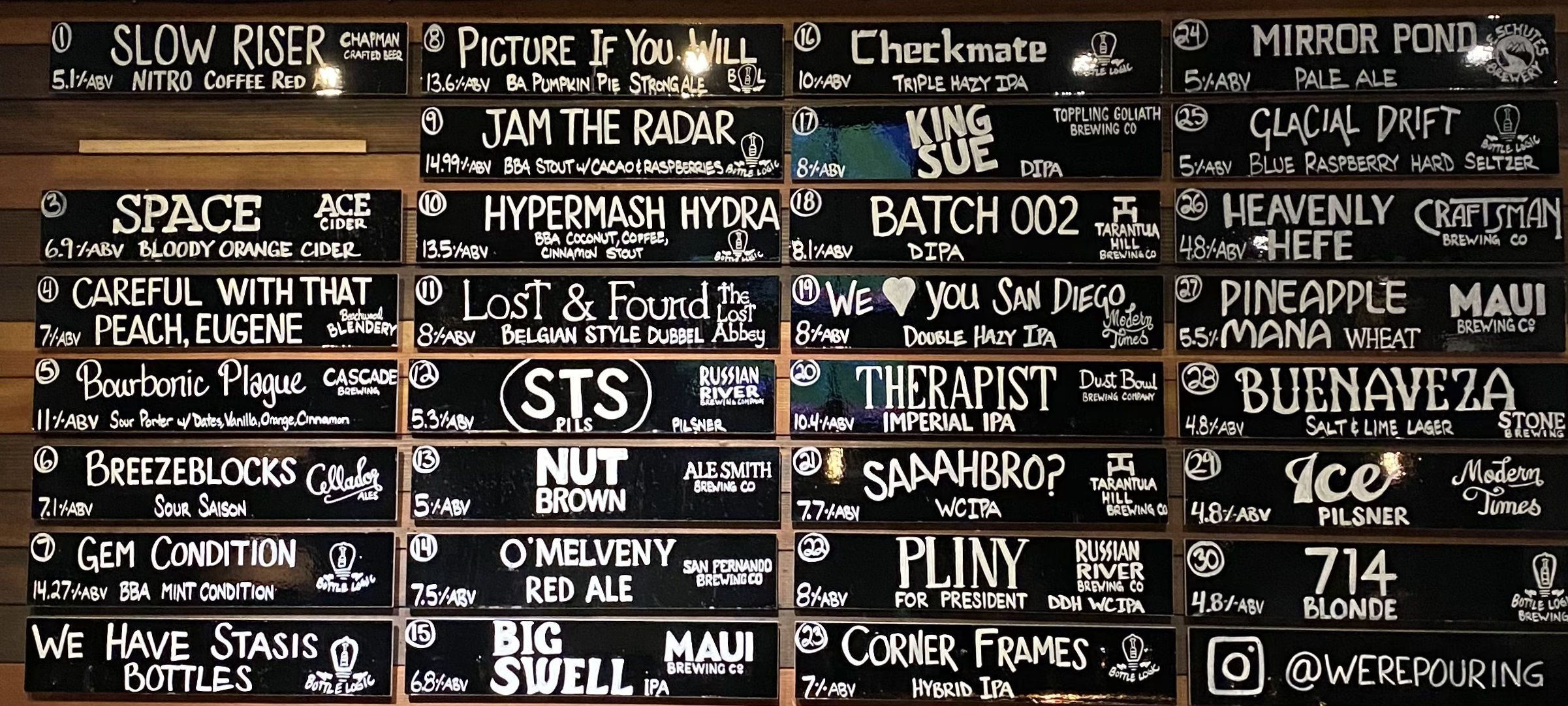 Were-Pouring-Craft-Beer-Glendale-Taplist-11-20-20-1